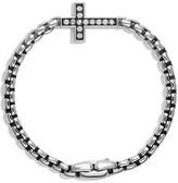 David Yurman Pavé Cross Bracelet with Diamonds