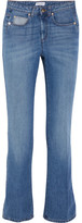 Sonia Rykiel Mid-rise Straight-leg Jeans - Blue