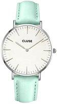 Cluse Unisex Quartz Watch with Black Dial Analogue Display Quartz Leather CL18225