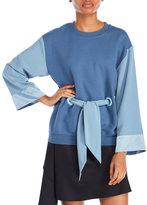 Alexis Mabille Long Sleeve Kimono Sweatshirt