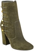 GUESS Women's Lucena Military Booties