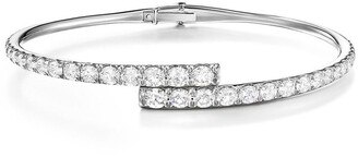 Melissa Kaye 18kt white gold and diamond Lola bracelet