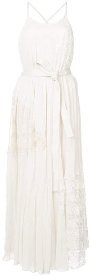 Derek Lam 10 Crosby Pleated Cami Dress