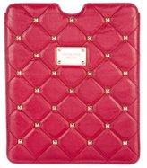 Michael Kors Studded Leather iPad Case