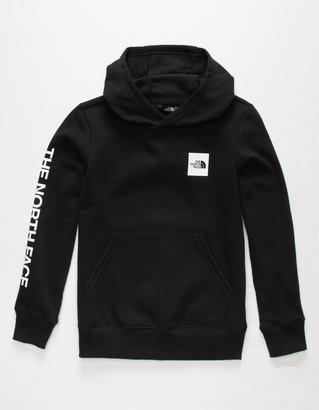 The North Face Logowear Girls Black Hoodie