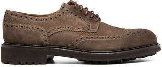 Doucal's Lace-Up Perforated Brogues