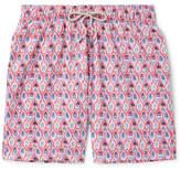 Faherty Beacon Long-Length Printed Swim Shorts