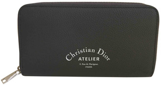 Christian Dior Grey Leather Small bags, wallets & cases