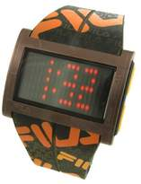 Fila 773030 Men's Wristwatch, Plastic Strap (Brown)