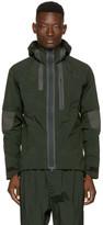 Y-3 Green Hooded Jacket
