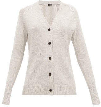 Joseph Raglan-sleeve Cashmere Cardigan - Womens - Light Grey