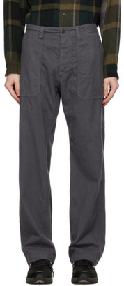 ts(s) tss Grey Check Fatigue Trousers