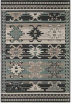 "Momeni Breezeway Indoor/Outdoor Western Sage 5'3"" x 7'6"" Area Rug"