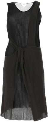 Bottega Veneta Cut-Out Layered Knit Dress