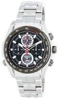 Bulova Men's Black Dial Bracelet Watch