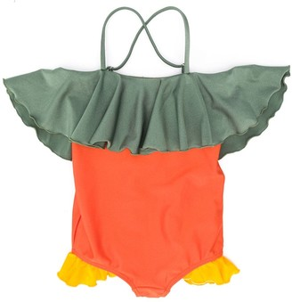 Wolf & Rita Colour-Block Swimsuit