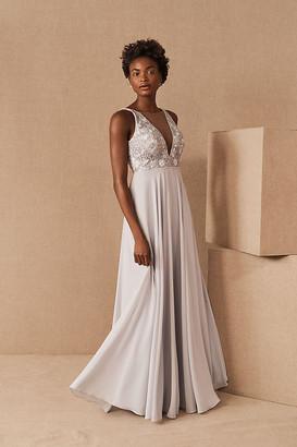 Jenny Yoo Kinsley Dress By in Blue Size 0