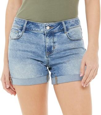 Apt. 9 Women's Denim Rolled Shorts