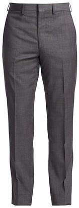 Ralph Lauren Purple Label Gregory Flat-Front Wool Pants