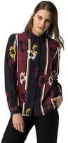 Tommy Hilfiger Painted Flower Blouse