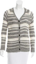 Rag & Bone Striped Open Knit Cardigan