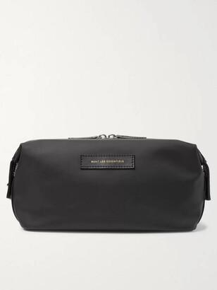 WANT Les Essentiels Kenyatta Leather-Trimmed Nylon Wash Bag