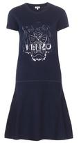 Kenzo Cotton Sweater Dress