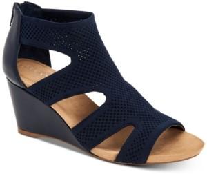 Alfani Women's Step 'N Flex Pennii Dress Wedge Sandals, Created for Macy's Women's Shoes