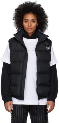 Alyx Black Down Buckle Puffer Vest