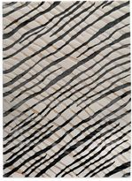 Bed Bath & Beyond MAT Halcyon Contemporary Rug in Black/Cream