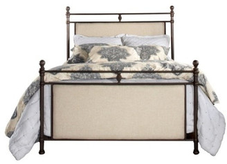 Hillsdale Ashley Bed, King, Metal Bed Rail Included