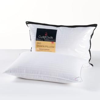 Cuddl Duds Medium Firm Down Surround Pillow