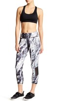 Mono B Abstract Print Mesh Legging