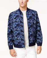 Tommy Bahama Men's Reversible Fez Frond Printed Bomber Jacket