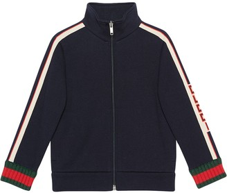 Gucci Kids Children's sweatshirt with jacquard trim