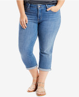 Levi's Plus Size Shaping Capri Jeans