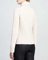Tory Burch Ilsa Zigzag Shearling Sweater