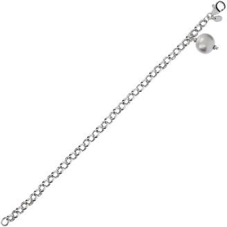 "Honora 8"" Cultured Pearl Charm Bracelet, Sterling"