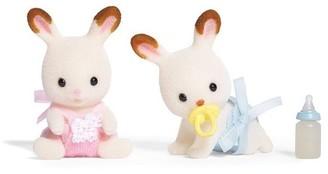 Calico Critters Hopscotch Rabbit Twins (Bilingual)
