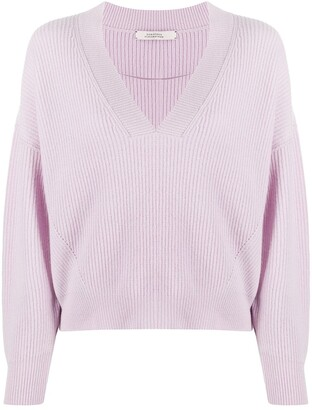 Dorothee Schumacher Timeless Ease v-neck jumper