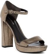 Pour La Victoire Yvette Metallic Platform Sandal