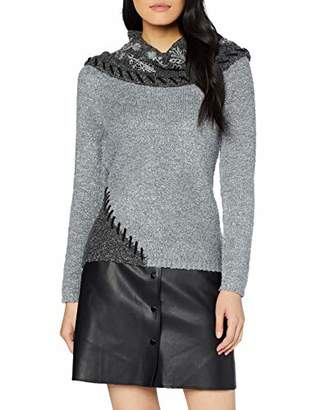 Joe Browns Women's Boucle Collar Jumper Greys (Size:)