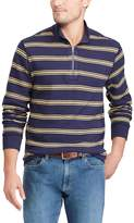 Chaps Big & Tall Classic-Fit Reversible Quarter-Zip Pullover