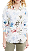 Tommy Bahama Eros Botanical Long Sleeve Button Front Shirt