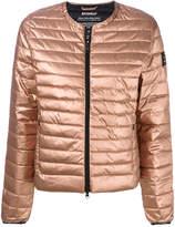 Ecoalf collarless puffer jacket