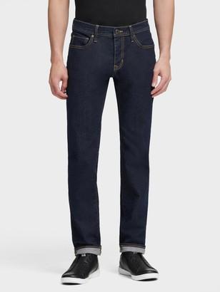 DKNY Men's Mercer Slim Fit Jean - Dark Indigo - Size 36x32
