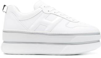Hogan H449 platform low-top sneakers