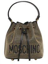 Moschino Studded Bucket Bag