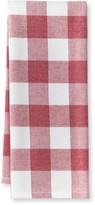 Williams-Sonoma Williams Sonoma Plaid Kitchen Towels, Set of 2, Claret