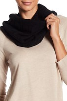 Amicale Cable Knit Wool & Cashmere Blend Circle Scarf